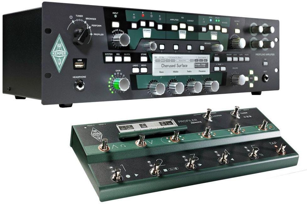 Kemper Profiling Amplifier Powerrack Inkl Remote