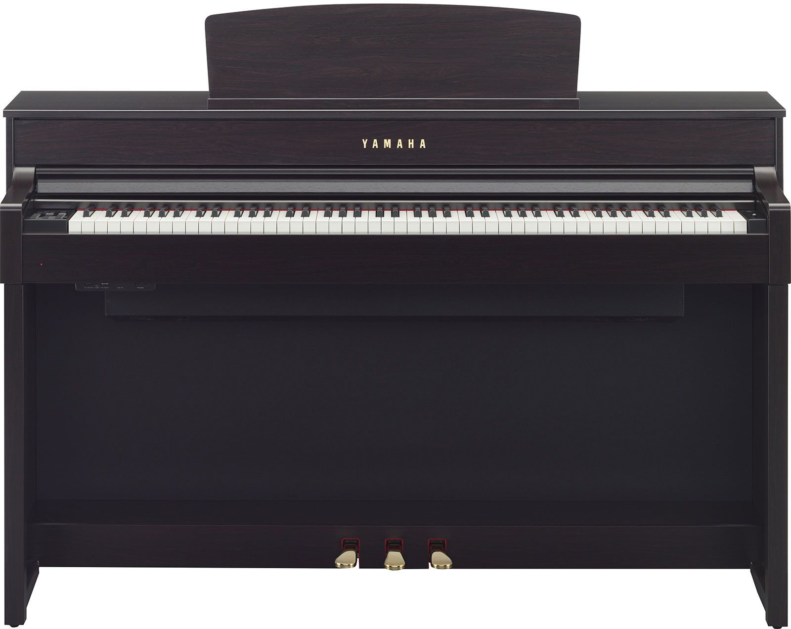 yamaha clp 575 clavinova dark rosewood. Black Bedroom Furniture Sets. Home Design Ideas