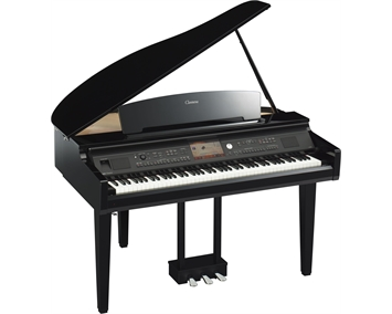 yamaha cvp 709 gp clavinova polished ebony. Black Bedroom Furniture Sets. Home Design Ideas