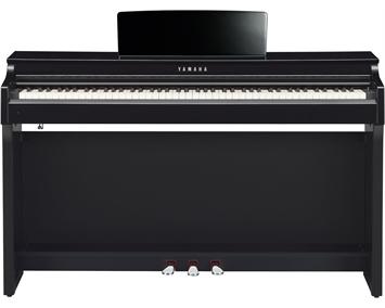 Yamaha clp 625 clavinova polished ebony for Yamaha clp 625