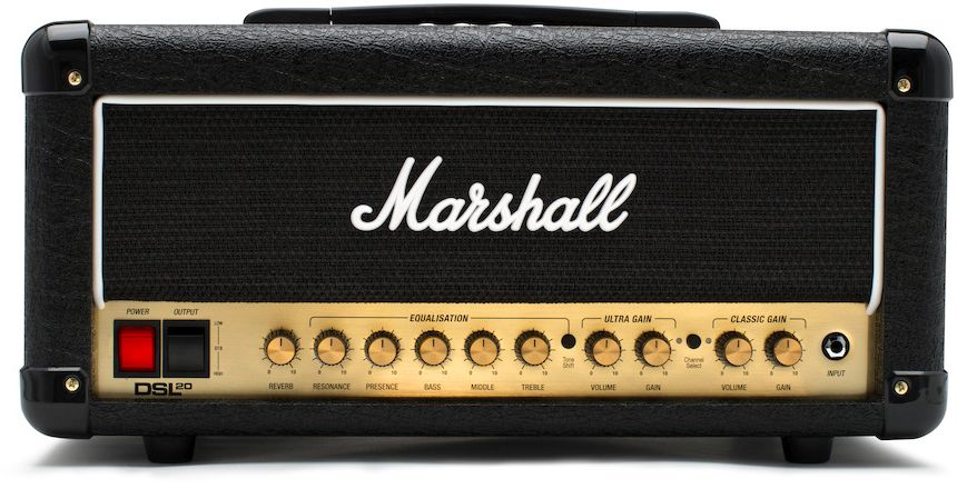 Marshall DSL20HR Head - emusic.se 2d8fefdf1061c